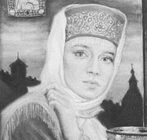 Портрет Елены Глинской