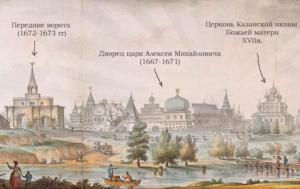 Ворота Дворец Казанский храм