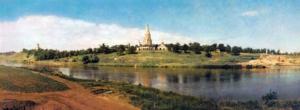 Современная панорама Коломенского