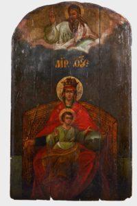 Державная икона Божией Матери находится в Казанском храме в Коломенском